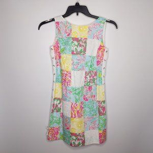 Lilly Pulitzer Dress 2 Patchwork Delia Multi State